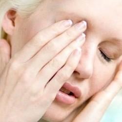 Воспаление в глазе