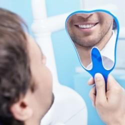 Чистые зубы после стоматолога