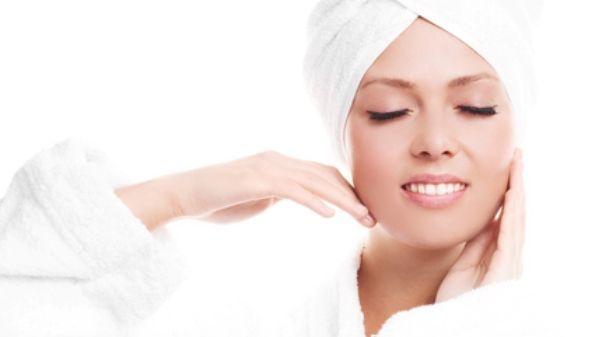 Чистая кожа после ванны