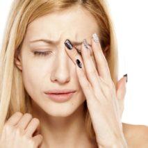 аллергия на глазах