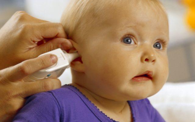 заложенность уха у ребенка